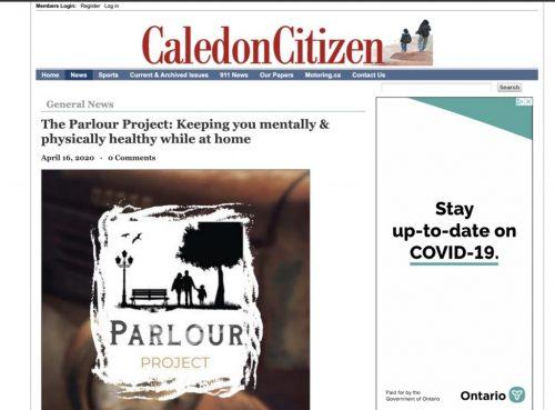 Caledon Citizen Article